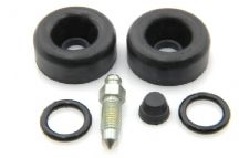 Rear brake cylinder seal set - saloon